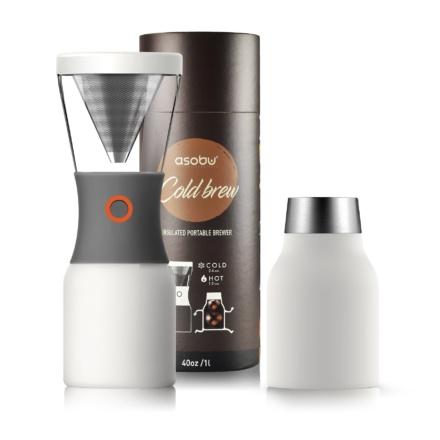 ASOBU Cold Brew Coffee 1l - alb