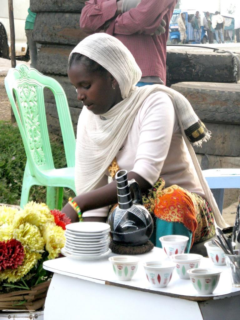 Ceremonia cafelei în Etiopia